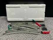 2 Pc Bachmann E-z Track Left And Right Hand Switch With Remote Hook Ups