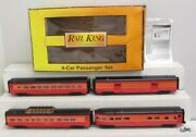 Mth 30-67759 O Southern Pacific 60' Streamlined Passenger Car Set Set Of 4 Ln