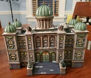 Vintage Dept 56 Porcelain Christmas In The City Series The Capital Rare And Htf