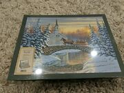 Puzzle - Lang Holiday Sleigh Ride By Sam Timm 500 Piece 2010 New Sealed