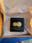 2021 American Eagle One-tenth Ounce Gold Two-coin Set Designer Edition 21xk