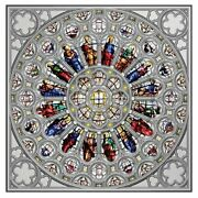 Rose Window Of Westminster Abbey 150g Proof Silver Coin 15 Solomon Islands 2021