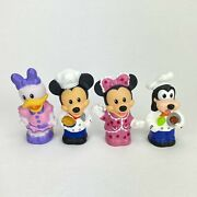 Fisher Price Little People Disney Mickey Mouse And Minnie Goofy Daisy Duck
