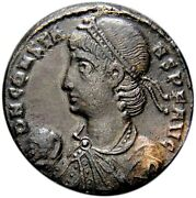 Certified Ancient Roman Coin Constans Large 23mm Andaelig Centenionalis Rome Rp Vf+