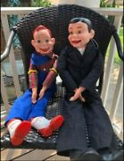 Howdy Doody And Charlie Mccarthy - Ventriloquist Dummy Dolls