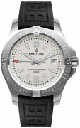 Brand New Breitling Colt 41 Automatic Silver Dial Steel Mens Watch A17313101g1s1