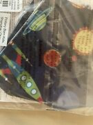 Pottery Barn Set 2 Face Mask Covering Kid School Solar System Planet Boy Space