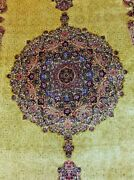 New Oriental Carpet Hand Loom Silk Area Rug With Soft Vintage For Size 5x8 Free.