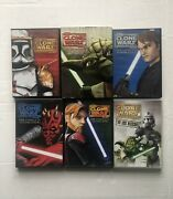 Star Wars The Clone Wars Complete Season 1, 2, 3, 4 And 5 Dvd + The Lost Mission