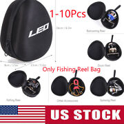 Spinning/raft Reel Protective Case Fishing Reel Bag Wheel Storage Bag Pouch T1c7