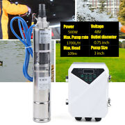 Used 3 Solar Water Pump Mppt Controller Kit Farm And Submersible Pumping 109m