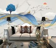3d Blue Streamer Zhua14786 Wallpaper Wall Murals Removable Self-adhesive Amy
