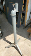 Delta Rockwell Wood Lathe Outboard Floor Stand Cast Iron Turning Tool 12 Ddl191
