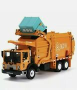 Truck Toy Model Vehicle Playsets Garbage 143 Scale Metal Diecast New Free S/h