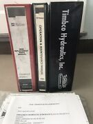 Timbco Hydraulics Inc Oem Replacement Parts Manual T400-c Operations/maintence