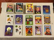Garbage Pail Kids 2012-13 Brand-new Series 1 2 And 3 Complete Sets