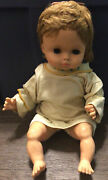 Vintage Antique Rare Doll Rosebud Composition Plastic Cloth 1920and039s Bow Collector