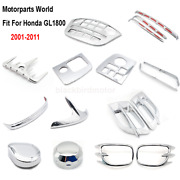 Motorcycle Chrome Fairing For Honda Gl1800 Goldwing1800 Gold Wing1800 Trim Parts
