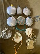 Vintage Canteens Boy Scouts , Girl Scouts Lot Of Canteens And Some Covers