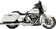Bassani Chrome Road Rage 2 Into 1 Exhaust Pipe Straight Can 2017 Harley Touring