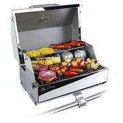 Kuuma Elite 216 Barbecue Gas Grill - 216 Cooking Surface Stainless Steel 58155