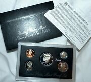1992-s 90 Silver Proof Set United States Mint Original Government Packaging Box