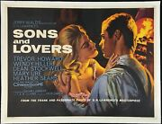Sons And Lovers Original Quad Movie Poster Linen Backed Tom Chantrell 1960