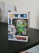 Funko Pop Gabriel Fluffy Iglesias Day Of The Dead Signed Exclusive Le 4000 Pcs
