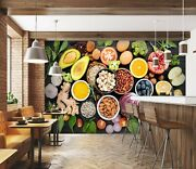 3d Nut Fruit Zhu045 Wallpaper Wall Mural Removable Self-adhesive Zoe
