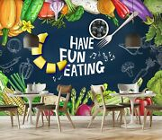 3d Fruit Vegetable Zhu095 Wallpaper Wall Mural Removable Self-adhesive Zoe