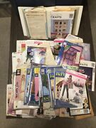 Rare Lot Mixed Vintage Sewing Patterns Mail Order Mccalls Simplicity Butterick