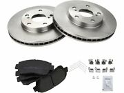 For 1992-1996 1999-2001 Toyota Camry Brake Pad And Rotor Kit Front 28318fn 2000