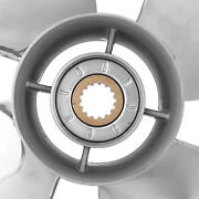 Outboard Propeller 4 Blades Outboard Propeller Stainless Steel 13 X 19 Rh Pitch