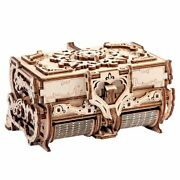 Wooden Machinery 3d Antique Jewelry Box Assembly Diy Assembling Wooden Yg