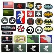 Pvc Patches For Airsoft Military Sniper Foxhound Umbrella Peace World Airforce