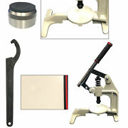 Manual Hole Cutting Punching Dies With Hand Press Machine Tools Plastic Plates