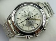 Omega Speedmaster Date Chronograph - Silver Dial - 2002 - Card