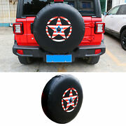Spare Tire Cover W/ Backup Camera For Wrangler Jl 18-20 Fit 30-32 Spare Tire