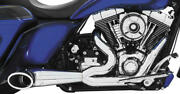 Freedom Performance Turnout 2-into-1 Full Exhaust Chrome/sculpted Black Hd00509