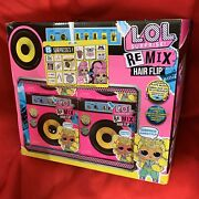 Lol Surprise Remix Hair Flip With 15 Surprise Lot Of 12 Boxes Factory Sealed