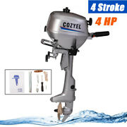4 Stroke 4hp Outboard Motor Engine Fishing Boat Kayak Inflatable Tcl Ignition Us