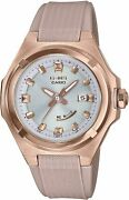Casio Baby-g-ms Msg-w300g-5ajf Solor Womenand039s Watch New In Box