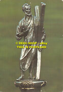 L035087 This Modern Mace Depicting St. Andrew Was Made For University In 1958. L