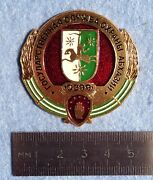 Departmental Badge Republic Of Abkhazia State Security Service Kgb 1990's