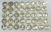 40 Coin Roll 90 Silver Statehood Quarters 40-coin Roll Proof S Mint L268