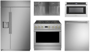 Monogram Appliance Package With 36 Gas Range And 48 Refrigerator