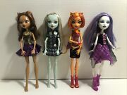 Monster High Doll Lot Ghouls Alive Clawdeen Frankie Toralei Spectra
