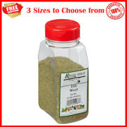 Dill Weed Dry Flaky Consistency Restaurant Pantry Bulk Spices Great For Pickling