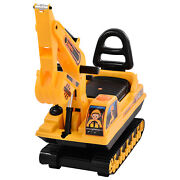 Child Ride On Excavator Toy Tractors Electric Digger Truck Car With Honking