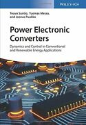 Power Electronic Converters Dynamics And Contr Suntio Messo Puukko-